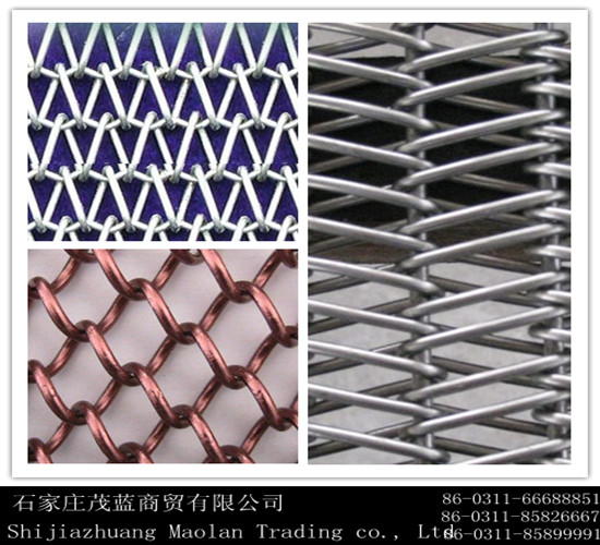 Herringbone stainless steel mesh,,
