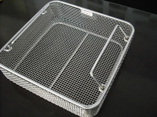 Wire mesh deep processing basket,