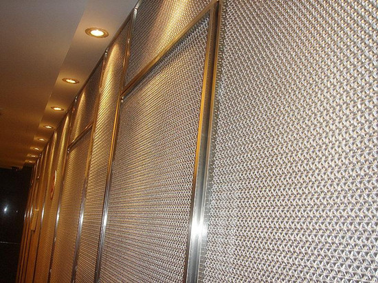 decorative metal mesh curtain wall,